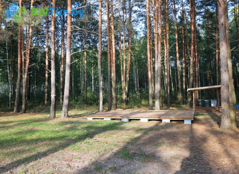 Отдых в Белоруссии Беларуси - кемпинг Клевое место - Площадка для палаток
