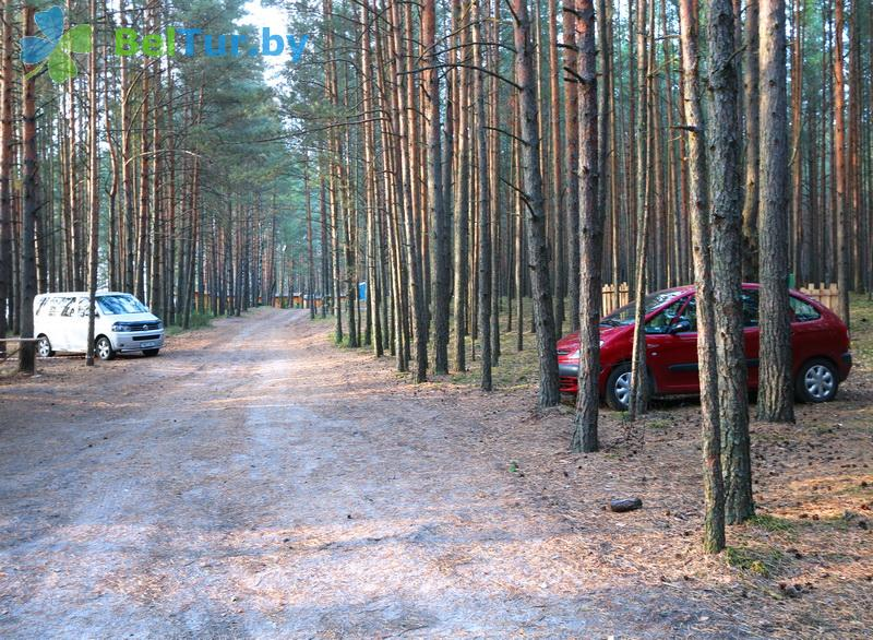 Rest in Belarus - camping Klevoe mesto - Parking lot