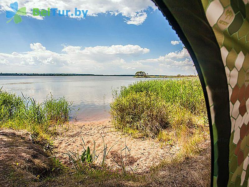 Отдых в Белоруссии Беларуси - кемпинг Клевое место - Пляж