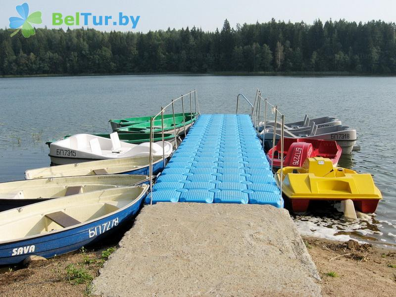 Отдых в Белоруссии Беларуси - гостиничный комплекс Крупенино - Прокат лодок