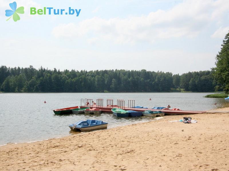 Отдых в Белоруссии Беларуси - гостиничный комплекс Крупенино - Пляж
