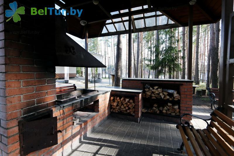 Отдых в Белоруссии Беларуси - гостиничный комплекс Крупенино - Площадка для шашлыков