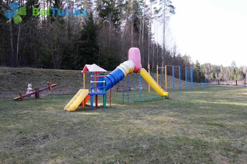 Отдых в Белоруссии Беларуси - гостиничный комплекс Крупенино - Детская площадка