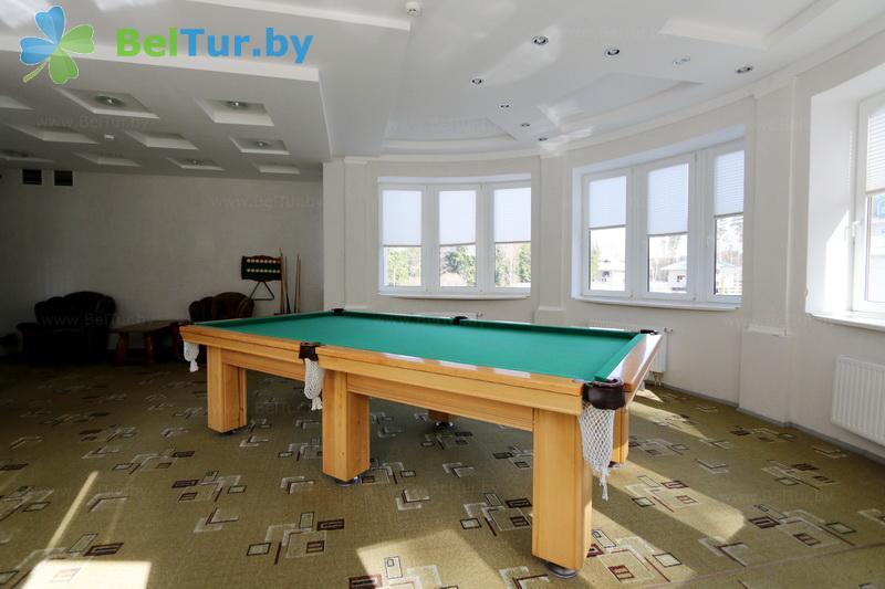 Отдых в Белоруссии Беларуси - гостиничный комплекс Крупенино - Бильярд