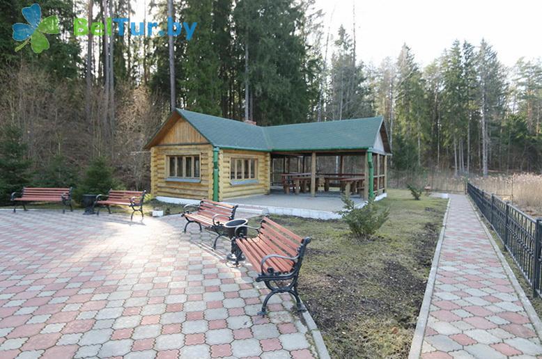 Отдых в Белоруссии Беларуси - гостиничный комплекс Крупенино - Беседка
