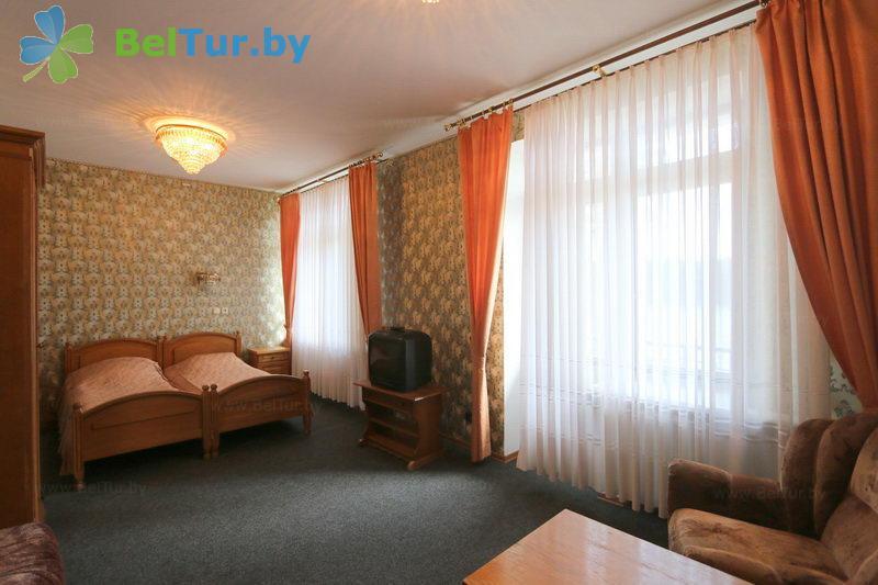 Отдых в Белоруссии Беларуси - база отдыха Крупенино - двухместный однокомнатный (корпус №1)