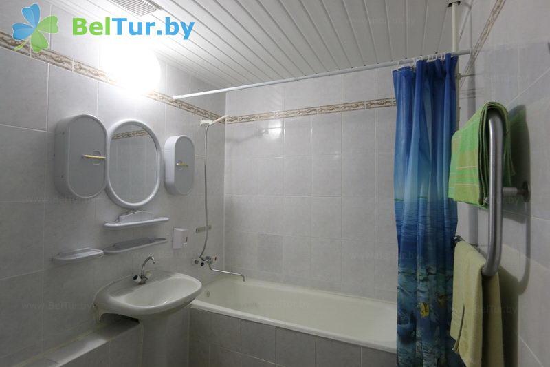 Отдых в Белоруссии Беларуси - гостиничный комплекс Крупенино - двухместный однокомнатный (корпус №1)