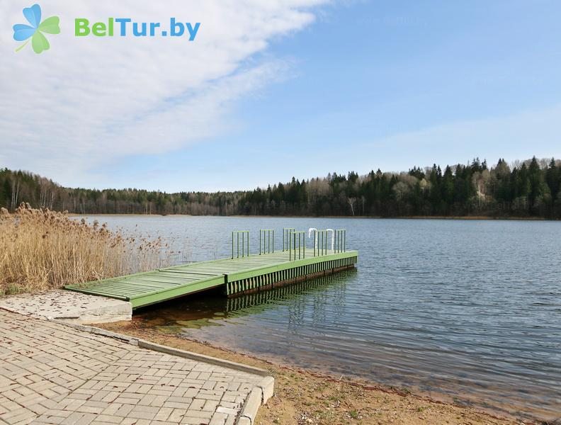 Отдых в Белоруссии Беларуси - гостиничный комплекс Крупенино - Водоём