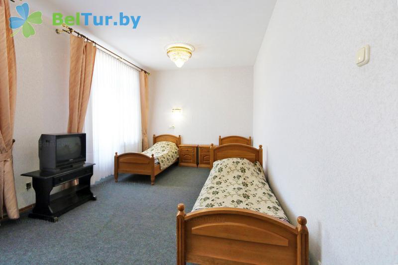Отдых в Белоруссии Беларуси - гостиничный комплекс Крупенино - трехместный однокомнатный стандарт (корпус №1)