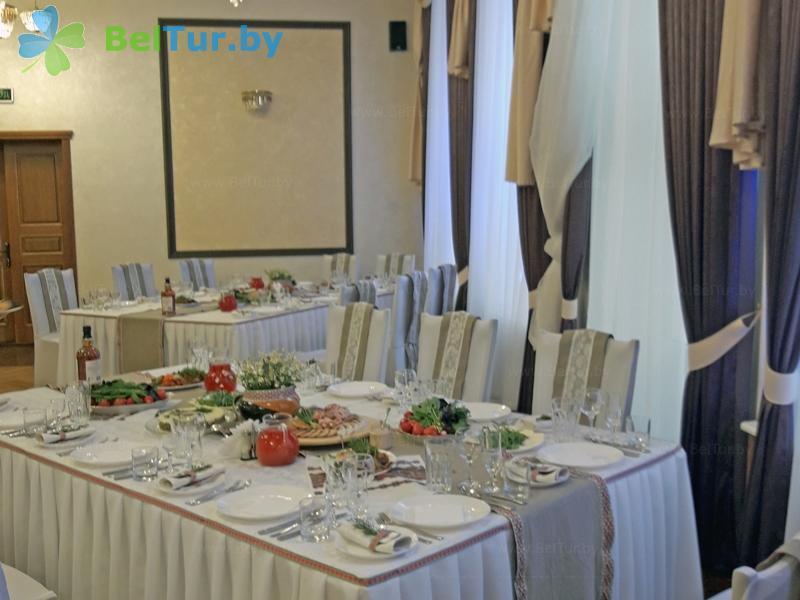 Отдых в Белоруссии Беларуси - гостиничный комплекс Крупенино - Столовая