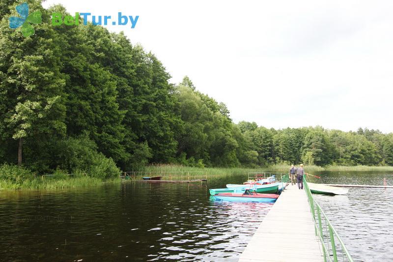 Отдых в Белоруссии Беларуси - база отдыха Белое озеро - Пункт проката