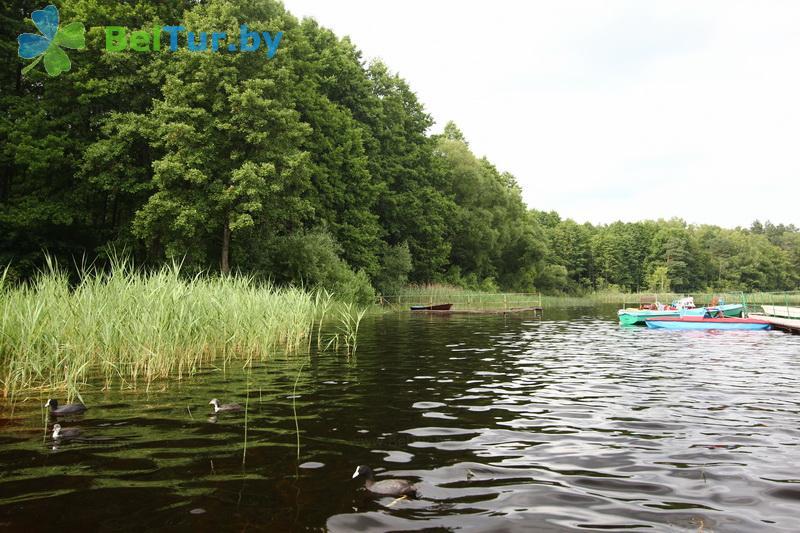 Отдых в Белоруссии Беларуси - база отдыха Белое озеро - Рыбалка