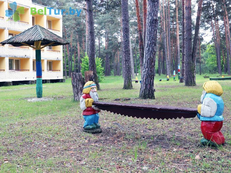 Адпачынак у Беларусі - база адпачынку Белае возера - Тэрыторыя і прырода