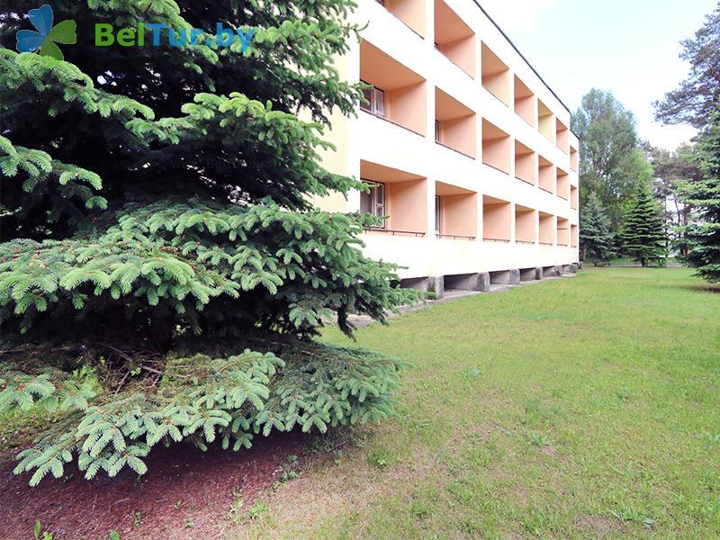 Отдых в Белоруссии Беларуси - база отдыха Белое озеро - спальный корпус №1