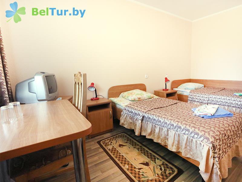 Отдых в Белоруссии Беларуси - база отдыха Белое озеро - двухместный однокомнатный twin comfort+/dbl comfort (спальный корпус №2)