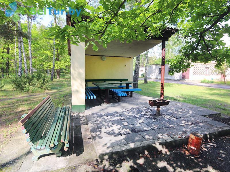 Отдых в Белоруссии Беларуси - база отдыха Белое озеро - Площадка для шашлыков