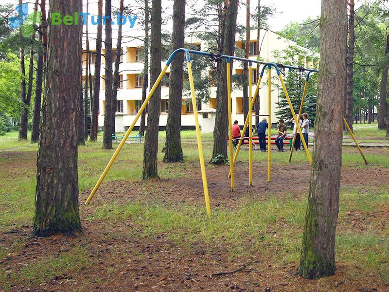 Отдых в Белоруссии Беларуси - база отдыха Белое озеро - Детская площадка