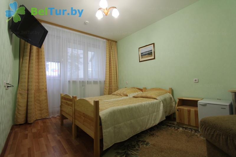 Отдых в Белоруссии Беларуси - база отдыха Дривяты - двухместный однокомнатный (корпус №3)
