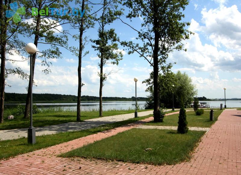 Отдых в Белоруссии Беларуси - база отдыха Дривяты - Территория и природа