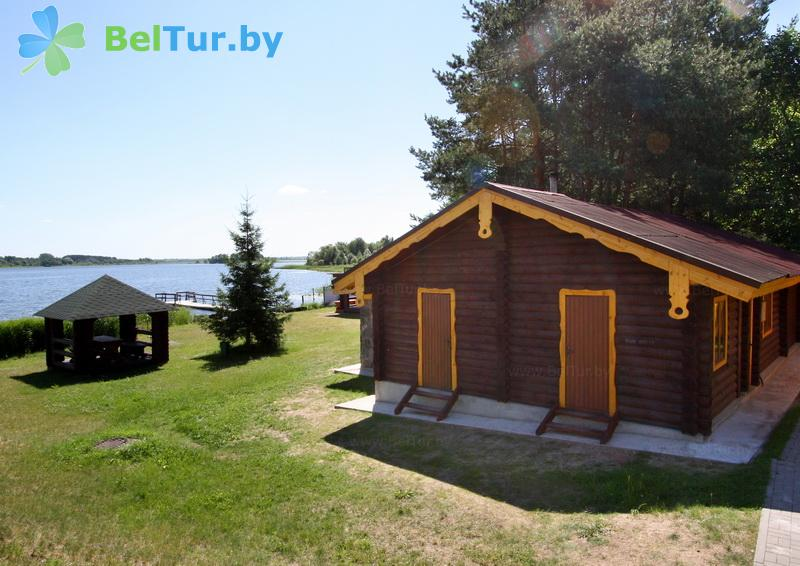 Отдых в Белоруссии Беларуси - база отдыха Дривяты - баня