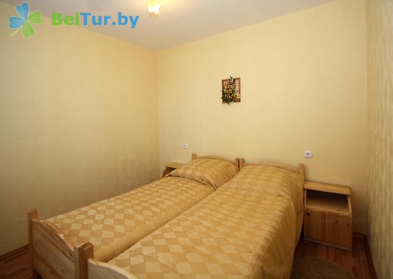 Отдых в Белоруссии Беларуси - база отдыха Дривяты - двухместный двухкомнатный (корпус №3)