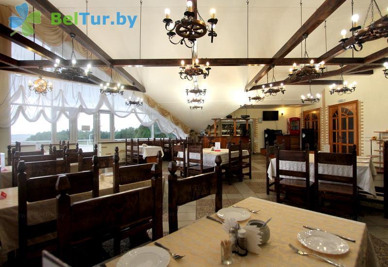 Отдых в Белоруссии Беларуси - база отдыха Дривяты - Ресторан