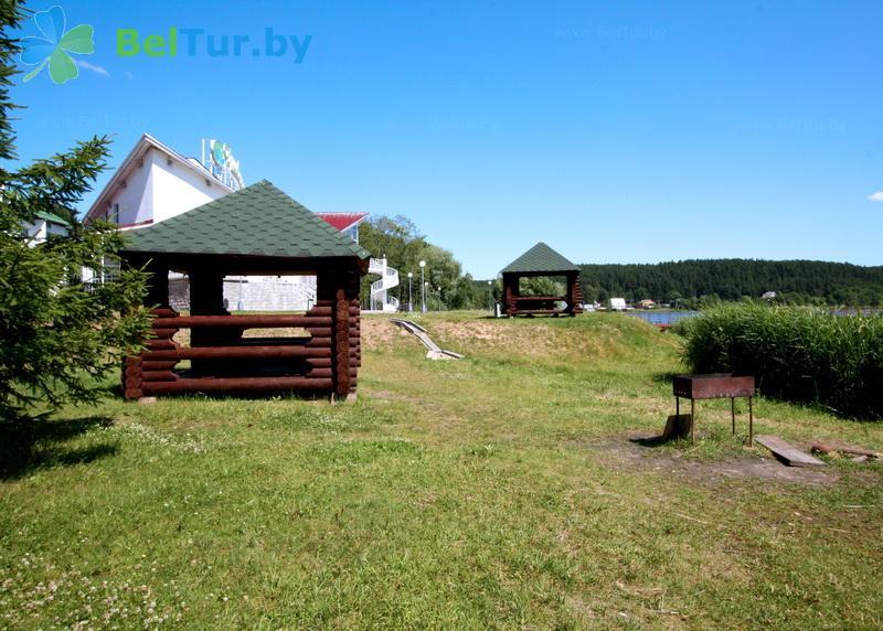 Отдых в Белоруссии Беларуси - база отдыха Дривяты - Площадка для шашлыков