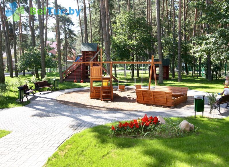 Отдых в Белоруссии Беларуси - база отдыха Дривяты - Детская площадка