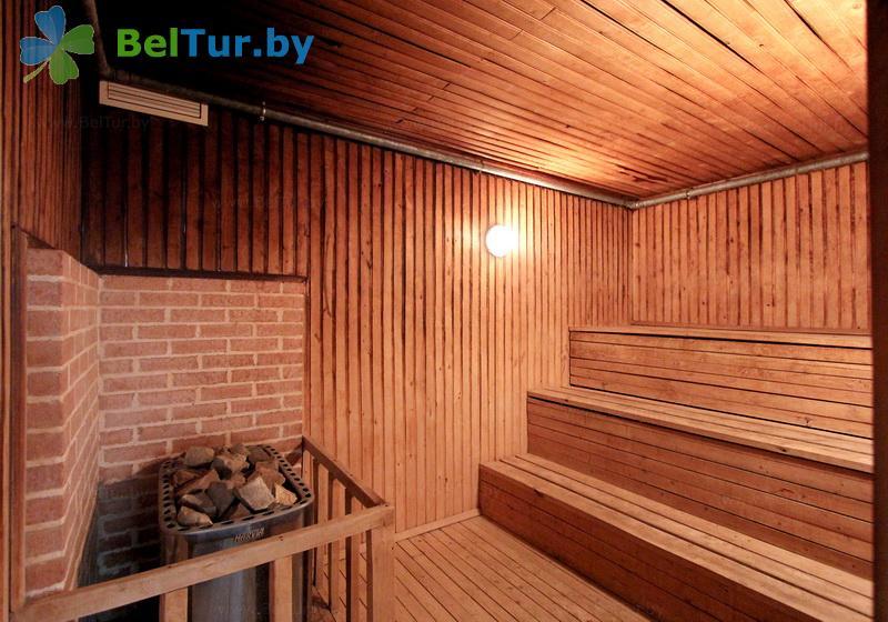 Отдых в Белоруссии Беларуси - база отдыха Дривяты - Сауна
