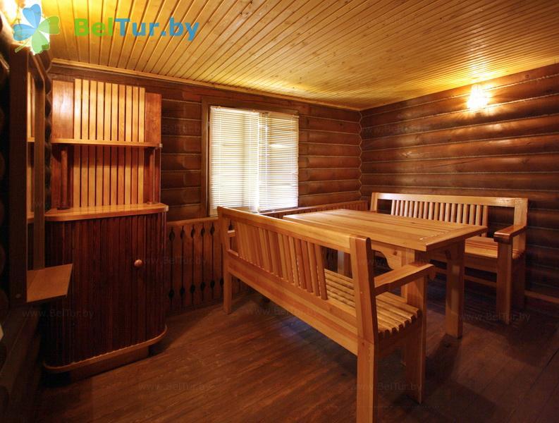 Отдых в Белоруссии Беларуси - база отдыха Дривяты - Баня русская