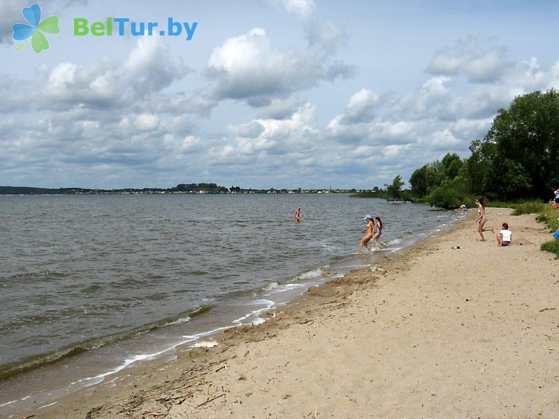 Отдых в Белоруссии Беларуси - база отдыха Дривяты - Пляж