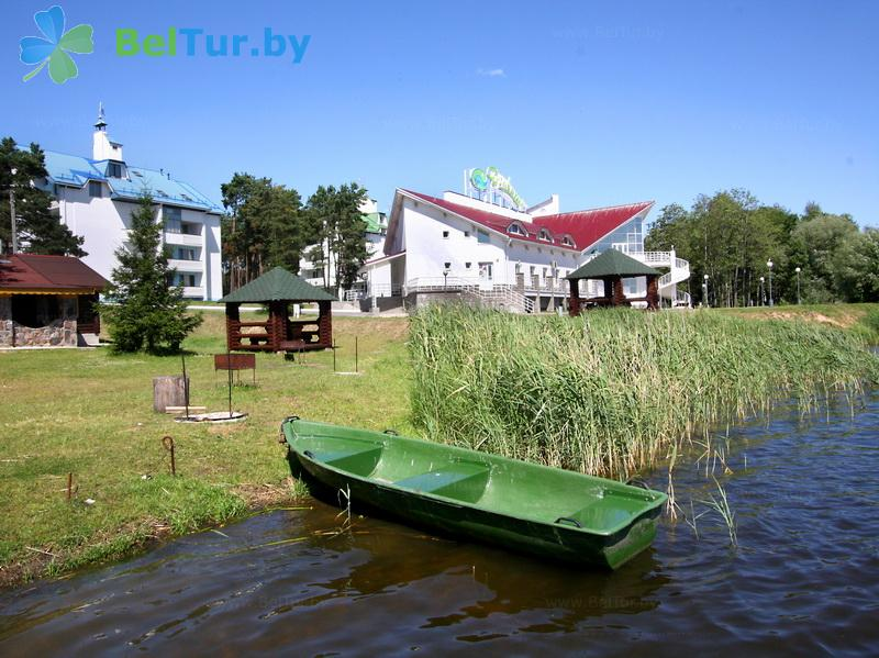 Отдых в Белоруссии Беларуси - база отдыха Дривяты - Прокат лодок