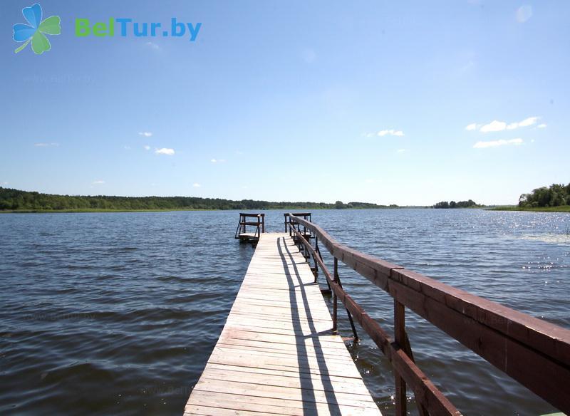 Отдых в Белоруссии Беларуси - база отдыха Дривяты - Водоём