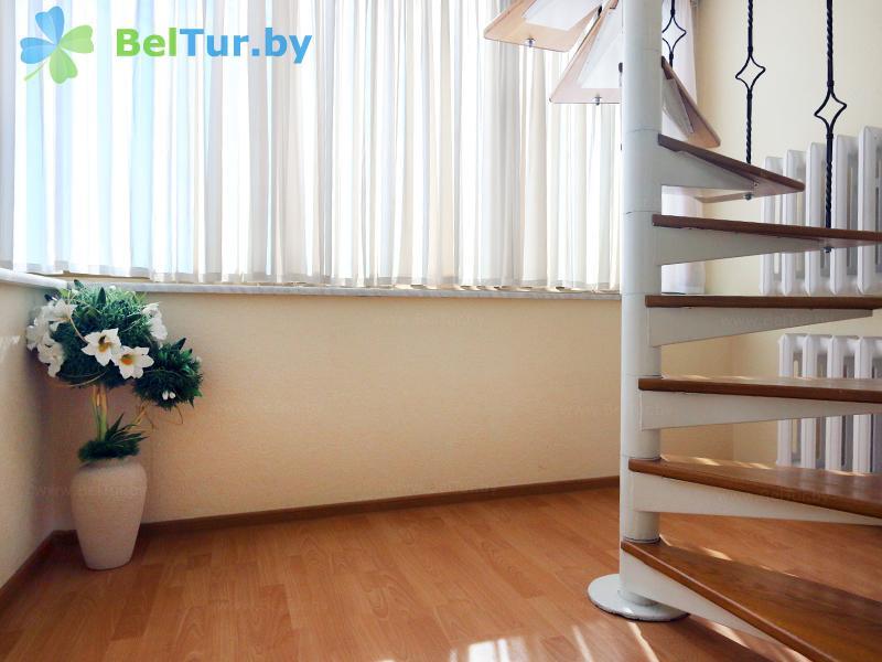 Отдых в Белоруссии Беларуси - база отдыха Дривяты - одноместный двухуровневый люкс (корпуса №1, 2)