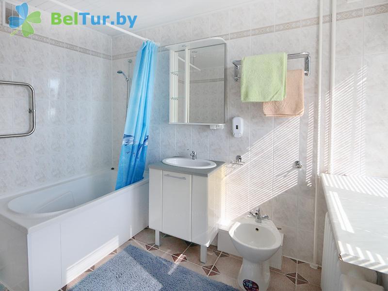Отдых в Белоруссии Беларуси - база отдыха Дривяты - одноместный двухкомнатный люкс/ 2 гостя (корпуса №1, 2)