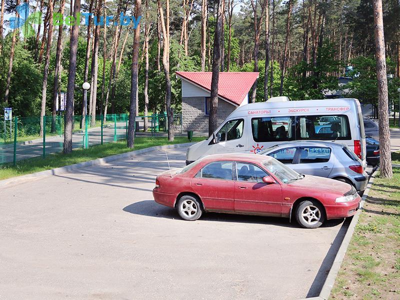 Отдых в Белоруссии Беларуси - база отдыха Дривяты - Парковка