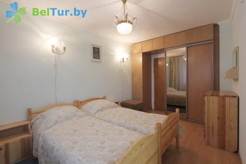 Отдых в Белоруссии Беларуси - база отдыха Дривяты - одноместный двухкомнатный люкс (корпуса №1, 2)