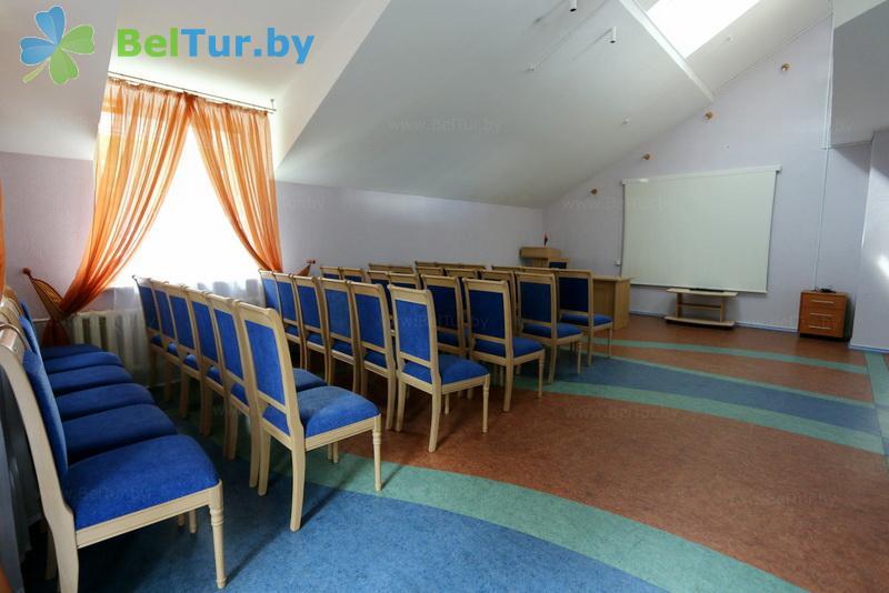 Отдых в Белоруссии Беларуси - база отдыха Дривяты - Конференц-зал