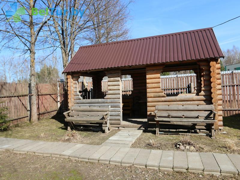 Отдых в Белоруссии Беларуси - туристический комплекс Лосвидо - Беседка