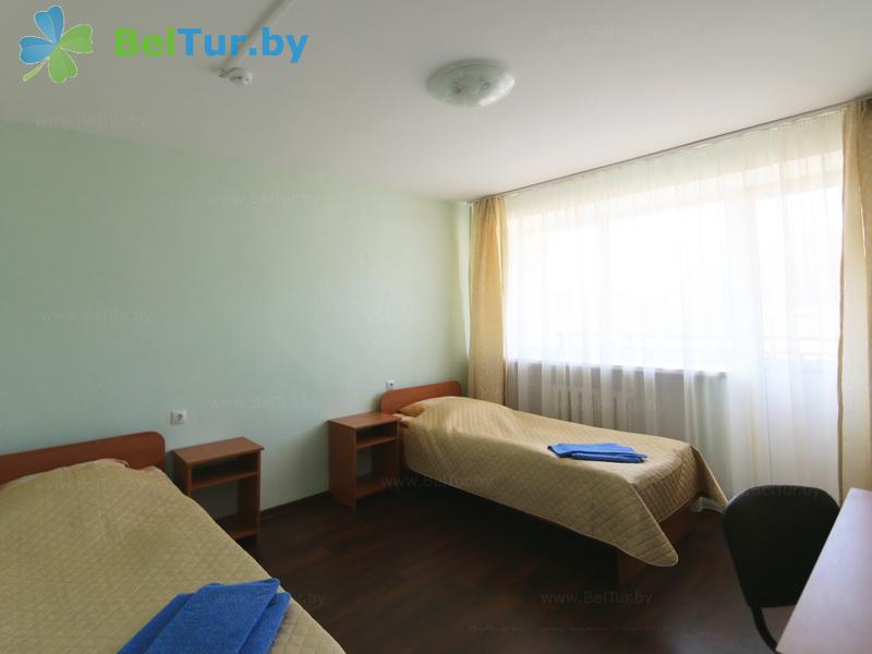 Отдых в Белоруссии Беларуси - туристический комплекс Лосвидо - двухместный однокомнатный стандарт в блоке (2+1) (главный корпус)