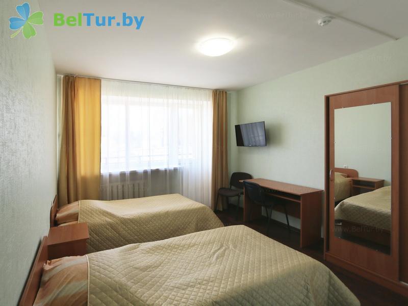 Отдых в Белоруссии Беларуси - туристический комплекс Лосвидо - двухместный однокомнатный комфорт (главный корпус)