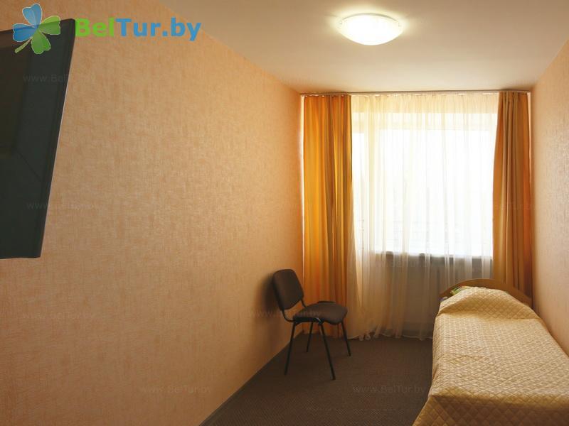 Отдых в Белоруссии Беларуси - туристический комплекс Лосвидо - одноместный однокомнатный стандарт (главный корпус)
