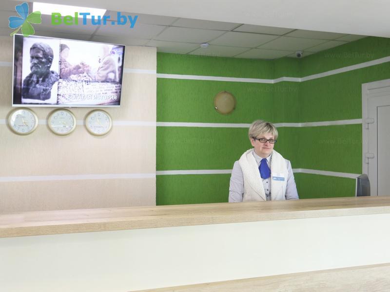 Отдых в Белоруссии Беларуси - туристический комплекс Лосвидо - Регистратура