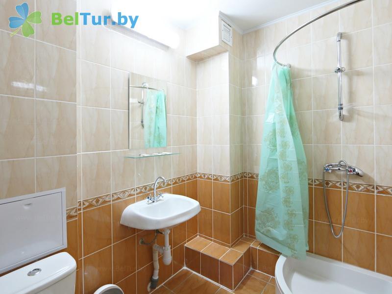 Отдых в Белоруссии Беларуси - туристический комплекс Лосвидо - одноместный однокомнатный стандарт в блоке (2+1) (главный корпус)