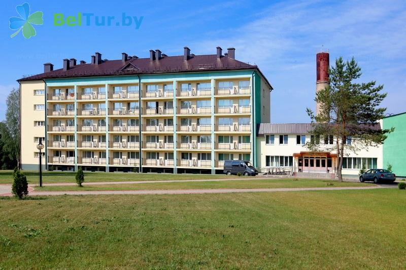 Отдых в Белоруссии Беларуси - туристический комплекс Лосвидо - главный корпус