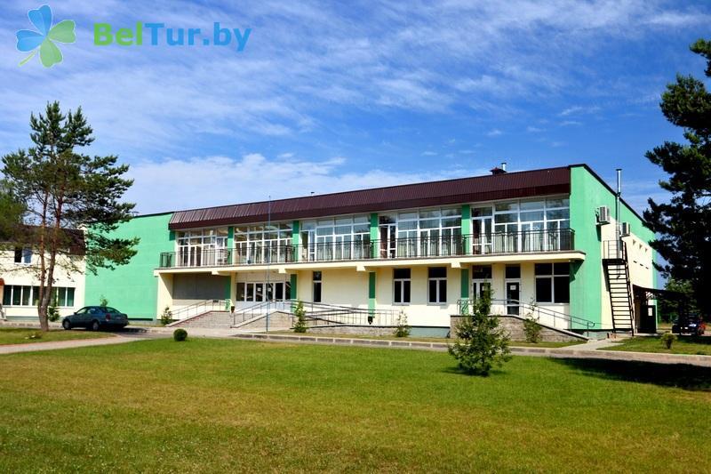 Отдых в Белоруссии Беларуси - туристический комплекс Лосвидо - здание столовой