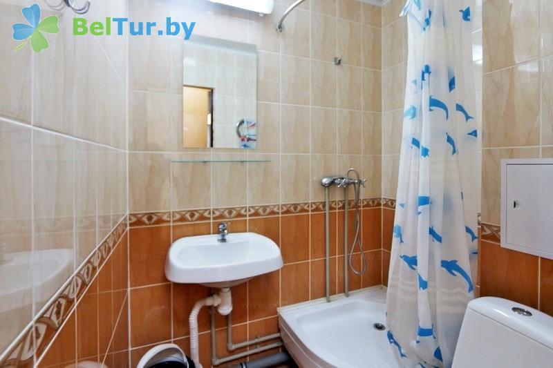 Отдых в Белоруссии Беларуси - туристический комплекс Лосвидо - двухместный однокомнатный стандарт (главный корпус)