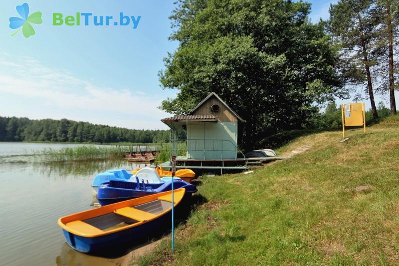 Отдых в Белоруссии Беларуси - туристический комплекс Лосвидо - Прокат лодок