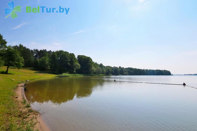 Отдых в Белоруссии Беларуси - туристический комплекс Лосвидо - Пляж