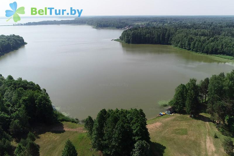 Отдых в Белоруссии Беларуси - туристический комплекс Лосвидо - Водоём
